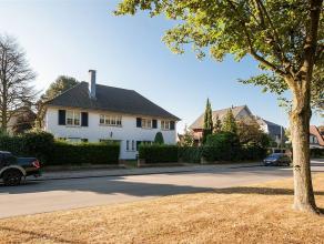 Klassieke villa gelegen te Wilrijk aan Park Den Brandt en het Nachtegalenpark. Villa in Franse stijl op 950m² met 5 slaapkamers (uitbreiding moge