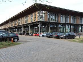 Centraal gelegen casco loft met zuidwest gericht terras van 30m2 en een open zicht op water (Voorhaven). Slechts op 10 minuten van Gent-centrum. Er ka