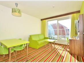 Deze toffe hotelkamer situeert zich in het Ibis Styles hotel op de Kustlaan in Zeebrugge. Zeer interessant wat betreft de investering. Daarbovenop bes