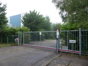Industrieel terrein voor buiten opslag met conciergewoning/kantoorruimte (opsplitsbaar) gelegen tussen de Steenweg op Gierle (N140) en de Steenweg op