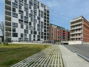 Schitterende loft van 190m² met patioterras op het zuiden, ondergrondse autostaanplaats en ruime kelderberging gelegen in de ANCO gebouwen aan de