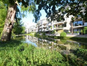 """Ruim appartement van ca. 180 m² rustig gelegen in Residentie """"Gulden Sporen"""" met direct zicht op prachtig park met vijver en wandelpaden."""