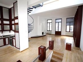 Gelegen in de buurt van het plein Marie-Louise, in een mooi huis, in de buurt van Schumann en Ambiorix, prachtige appartement duplex van + - 160m&sup2