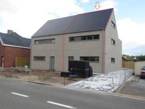 Mol ; Heidehuizen 48  : ruime nieuwbouwwoning met ruime woonkamer, geïnstalleerde keuken met bergplaats, aparte wc, boven zijn 3 slaapkamers, ber