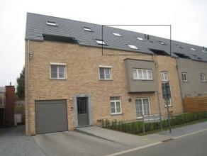 Prachtig nieuwbouw appartement in het centrum van Deurne (Diest) Indeling:Terras, inkomhal, ruime living met open keuken voorzien van alle comfort, ap