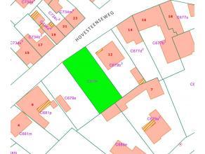 Bouwgrond van 5a82ca voor open bebouwing.Deze bouwgrond is geschikt voor het bouwen van een ééngezinswoning, straatbreedte van 16m.Geleg