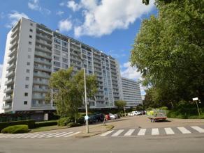 Ruim appartement (120 m²)  op de vierde verdieping van een goed onderhouden gebouw. Rustig gelegen maar vlakbij alle belangrijke verbindingswegen
