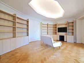 Étangs d'Ixelles, face à l'abbaye de la Cambre, superbe appartement de prestige, +/ 350 m² situé au 4ème étage