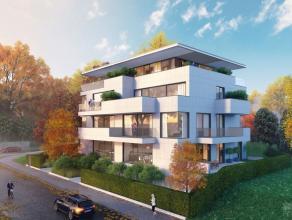 Dans l'excellent quartier de Boendael très verdoyant, dans un immeuble style contemporain en construction comprenant 6 appartements passifs, 4