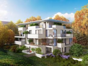 Dans l'excellent quartier de Boendael très verdoyant, dans un immeuble style contemporain en construction comprenant 7 appartements passifs ave