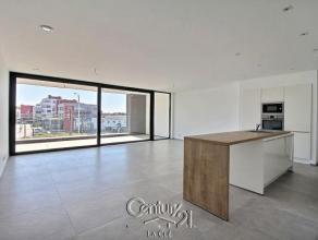 Un appartement de standing? Sans aucun doute! Découvrez ce magnifique appartement, agrémenté d'un grande terrasse couverte, le to