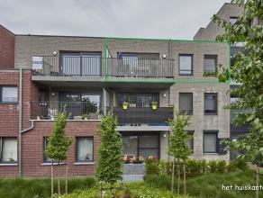 Goed gelegen appartement ( 86 m² ) met 2 slaapkamers, ondergrondse parkeerplaats en berging.