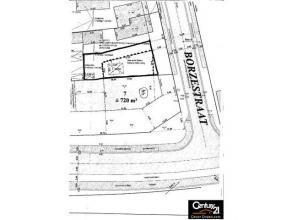 Bouwgrond voor het bouwen van een HOB met een oppervlakte van 250 m².