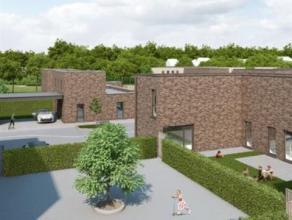 Moderne patiowoning (nieuwbouw) met afgesloten privetuin en carpoort.<br /> De moderne architectuur & inplanting v/d gebouwen vraagt voor een aang