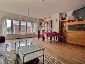Mouscron - Appartement 2 chambres avec surface commerciale au rez-de-chaussée : - Rez-de-chaussée : +/- 30 m² boutique avec arri&eg