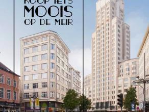Investissez dès à présent dans l'immeuble historique du Meirbuilding. Appréciez de vivre dans un quartier exceptionnel: -