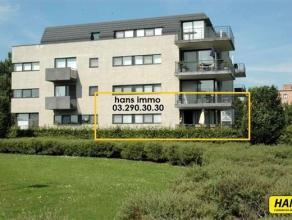 Prachtig appartement (Residentie Green Gardens) gelegen op de eerste verdieping met 2 slpks, terras en garagebox met een bew. opp. van 115 m² in