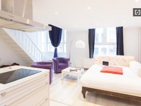 Chambre à louer dans un appartement de 1 chambres à Ixelles proche Ixelles  550,00 € charges incluses ! N'hésitez pas à no