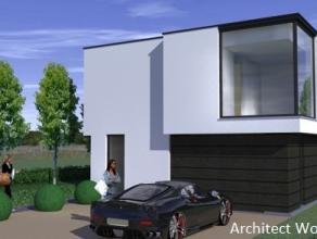 Nieuw te bouwen energiezuinige villa (10mx8m 2bl) in een oase van groen en rust. Op een boogscheut van de oprit E40 te Drongen met in de onmiddelijke
