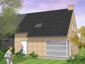 Nieuw te bouwen halfopen bebouwing gelegen op een rustige nieuwe verkaveling. De volledig afgewerkte woning bestaat uit ruime living, keuken met AEG-a