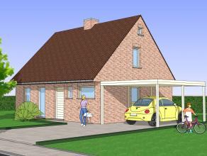 Dimmo biedt een nieuw te bouwen villa aan gelegen op een rustige nieuwe verkaveling. De landelijke omgeving is ideaal voor wie er van geniet in de nat