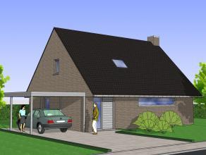 Nieuw te bouwen villa gelegen op een rustige nieuwe verkaveling. De volledig afgewerkte woning bestaat uit ruime living, keuken met AEG-apparaten, ber