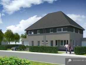 Tijdloze half open bebouwing met 2 slaapkamers en garage.Deze nog nieuw te bouwen woning in de verkaveling 'Kerkeneind-West' te Kalmthout zal een stan
