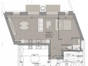 Wij zijn gestart met de verkoop van 13 studio's, 6 flats (éénslaapkamer-appartementen), 8 kelders én 16 overdekte autostaanplaats
