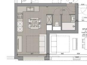 Deze studio (30,60m²), uitstekend gelegen te midden van de studentenbuurt, wordt verkocht binnen een totaal-renovatieproject: het huidige gebouw