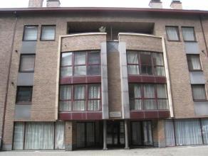 """Mooi 1 slaapkamer-appartement van 51 m² in het centrum van Leuven. Dit appartement is, aan de achterkant, gelegen in de Residentie """"De Langeman"""""""