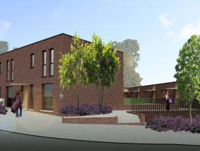 De woning beschikt over een private autoparking in de gemeenschappelijke kelder met toegang tot de woning op leefniveau. Het gelijkvloers bevat een ru