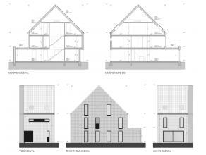 Deze goed gelegen woning aan de Platte-Lo straat in Kessel-Lo, op een boogscheut van het station van Leuven wordt volledig nieuw gebouwd en afgewerkt