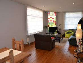 Info en bezichtigingen: mail filip@immodetiege.be of bel 016/460082<br /> <br /> Dit stijlvolle gelijkvloers appartement mét garage ligt op 1 k