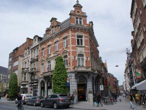 Ruim appartement gelegen in het hartje van Leuven. Het appartement bevat 1 slaapkamer, badkamer, open keuken en een grote leefruimte met hoge ramen.