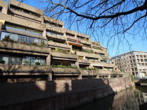 Mooi appartement 107 m² + 30 m² terrassen met zicht op de Dijle !  Indeling met grote leefruimte 45 m² en groot zonneterras 20 m²