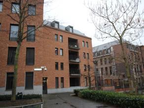 Ruim, recent appartement op de Drinkwaterstraat te Leuven gelegen op de tweede verdieping met 2 slaapkamers, ruime living met aansluitend groot inpand