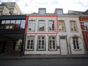 Duplex appartement in residentie 'Vesalius' in het centrum van Leuven. <br /> <br /> Dit appartement situeert zich recht in het centrum van Leuven en