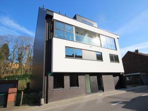 Nieuw gelijkvloers appartement 165 m² met zonneterras 33 m² en privé-tuin gelegen in hartje Heverlee.  Omvat een grote leefruimte met