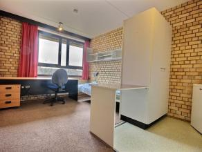 Studio vintage meublé d'env. 25m² situé à l'étage 1/6 côté parking. Séjour avec tapis-plain, cuis