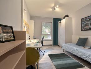 Studio SINGLE moderne meublé d'env.18 m², situé au troisième étage. Séjour avec revêtement en PVC massif