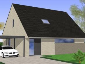 Te bouwen moderne open bebouwing.De woning wordt volledig afgewerkt opgeleverd. Vrij van materiaalkeuze.