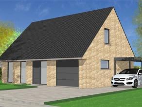 Prachtige nog te bouwen ruime woning met garage.De woning is volledig afgewerkt met kwalitatieve materialen beschreven in het lastenboek.Vraag vrijbli
