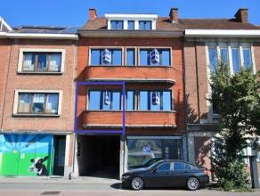 Appartement met 1 kamer, gelegen in een gerenoveerde appartementsblok (2016), vlak buiten de stadsrand van Leuven, op 250m gelegen van het station van