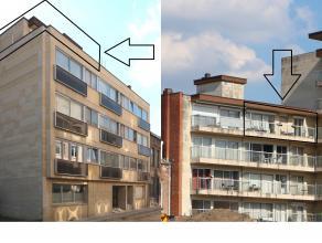 Dakappartement met 2 slaapkamers, gelegen op wandelafstand van centrum Leuven, vlakbij een pleintje, winkels op 500m. <br /> <br /> Het appartement om