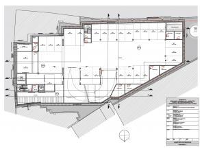 Onder de nieuwe studentenresidentie 'Ramberghof' worden er ook 45 ondergrondse autostaanplaatsen voorzien, verdeeld over 2 niveau's. Auto veilig parke