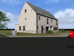 Half open nieuwbouwwoning, in een tijdloze, Vlaamse stijl, welke een ultieme standing uitstraalt. Er is zeer veel aandacht besteed aan optimale ruimte