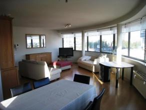 penthouse met panoramisch zicht en ca 85m³ zonneterras vlakbij Jachthaven, MAS en 't Eilandje; rechttegenover Park Spoor Noord volledig gemeubeld
