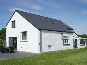 Landelijk gelegen woning met tuin op een perceel van 7a30ca met mooi uitzicht zowel vooraan als achteraan (gelegen langsheen spoorweg en in agrarisch