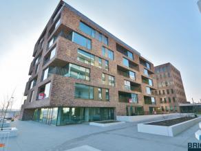 Prachtige Nieuwbouw PENTHOUSE met twee terrassen met VERZICHTEN over Brugge. Omvattende inkom met vestiaire, lichtrijke woonkamer met parket, volledig