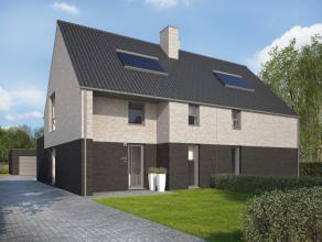 Woning A, links<br /> Ruime, moderne nieuwbouwwoning, gelegen op 1km van het centrum van Opglabbeek. <br /> <br /> Vlotte verbinding met de E314 (10mi